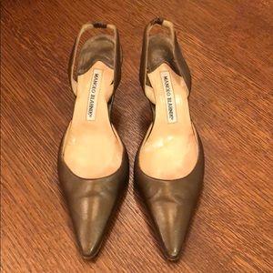 Authentic Manolo Blahnik dress shoes